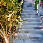 slate stairway